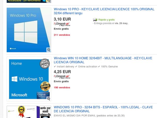 How buy Windows 8, 10,  o Microsoft Office spending 7$